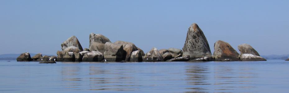 Em Belém tem... ilha de pedras
