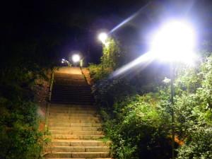 Escadarias do Morro da Cuíca - subida