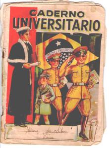 Caderno - capa