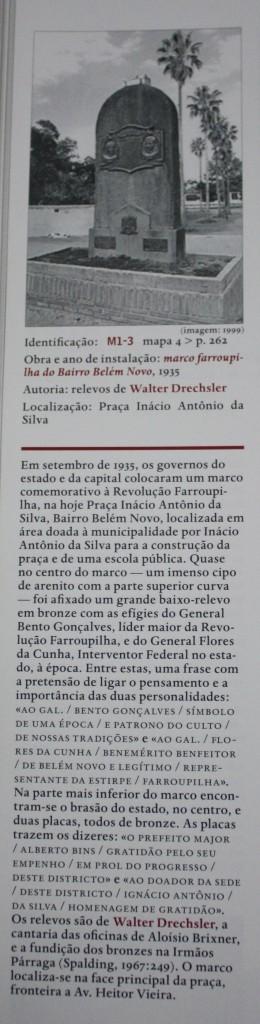 A Escultura Pública de Porto Alegre (excerto) - José Francisco Alves