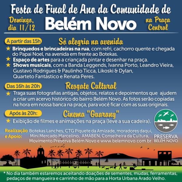 Festa de Final de Ano da Comunidade de Belém Novo